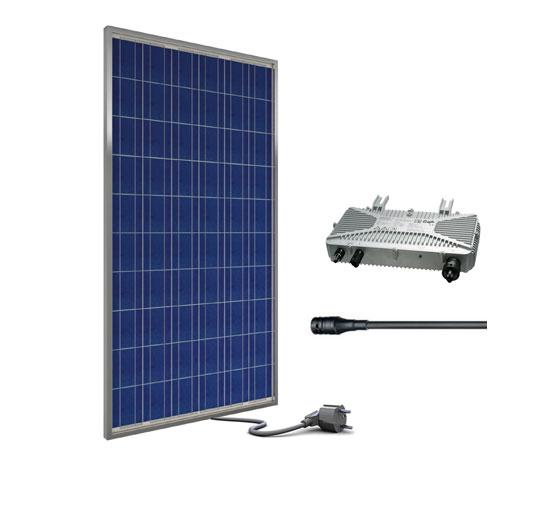 minisolaranlage 245watt aeconversion vde ar n 4105 plug and play photovoltaik ebay. Black Bedroom Furniture Sets. Home Design Ideas