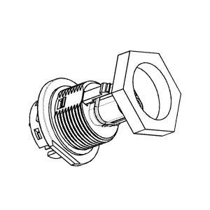 Stecker für das Gehäuse dreiadrig Wieland RST20i3